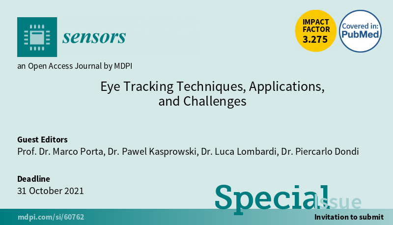 Eye Tracking Techniques, Applications, and Challenges